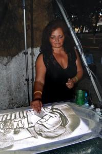 Mariana Pachis sand Art
